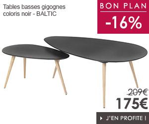 Bon plan tables basses