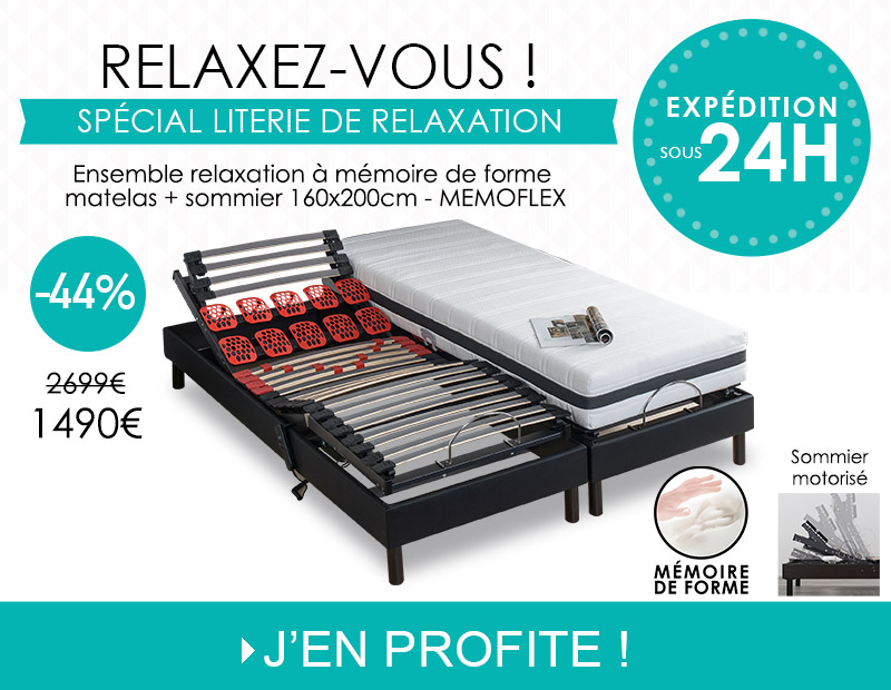 Gamme literie relaxation