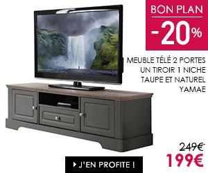 Bon plan meuble tv