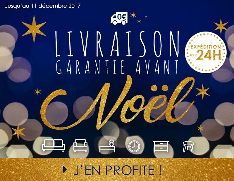 Livraison garantie avant Noel 2017