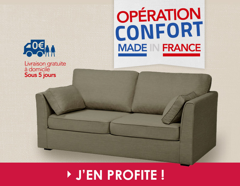 Operation confort made infrance
