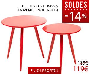 Soldes - Tables