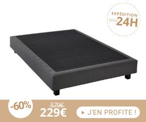 Sommier tapissier 140x200 cm CONFORTLUXE