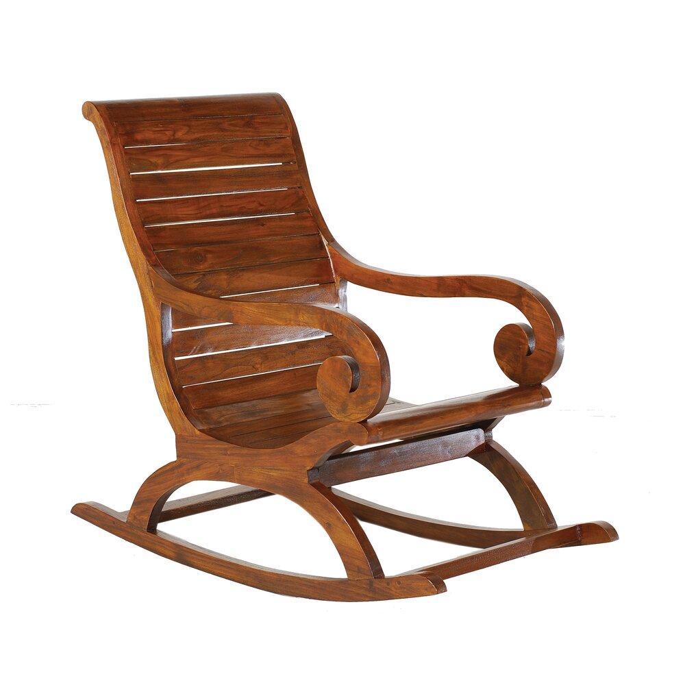Fauteuil - Rocking chair en bois - VOTARA photo 1