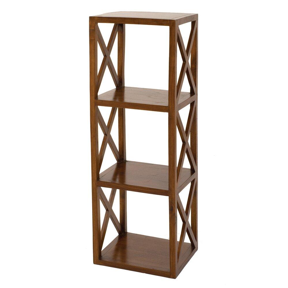 Bibliothèque - Etagère 40 cm avec 3 niveaux en bois - VOTARA photo 1