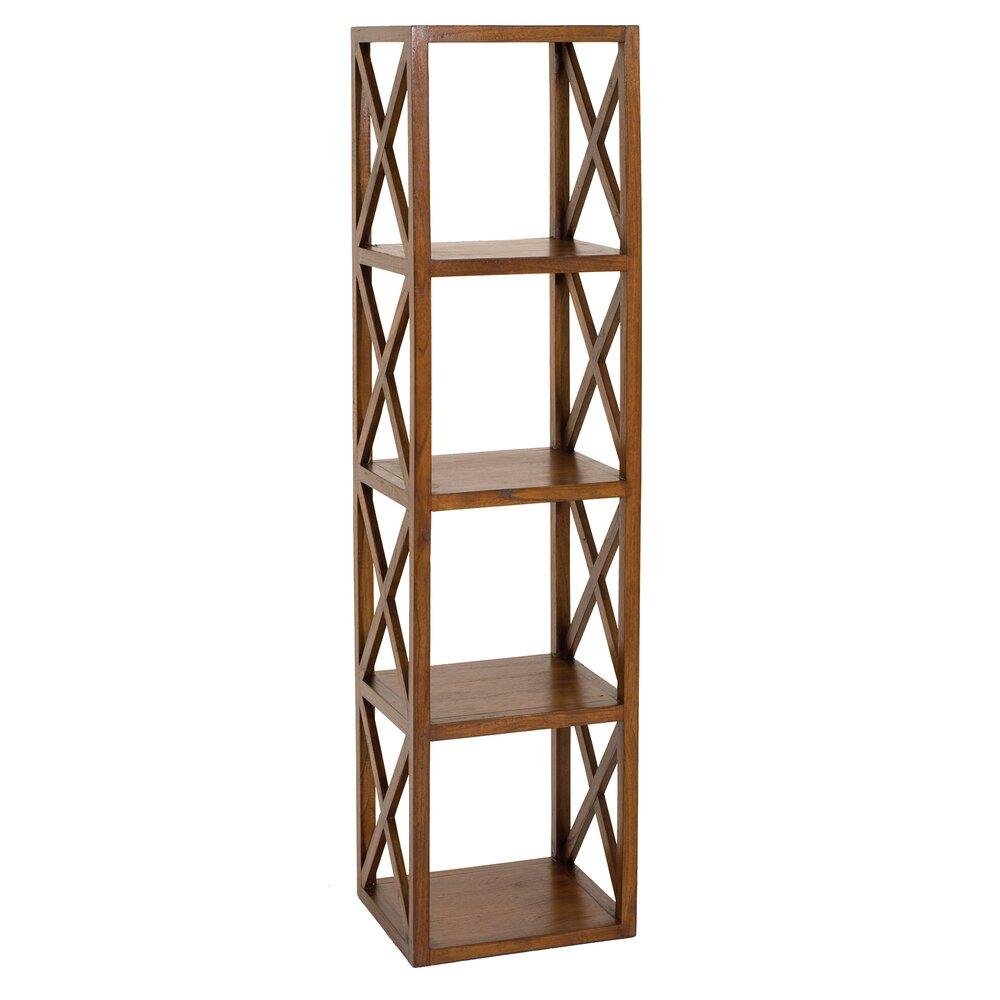 Bibliothèque - Etagère - Etagère 40 cm avec 4 niveaux en bois - VOTARA photo 1