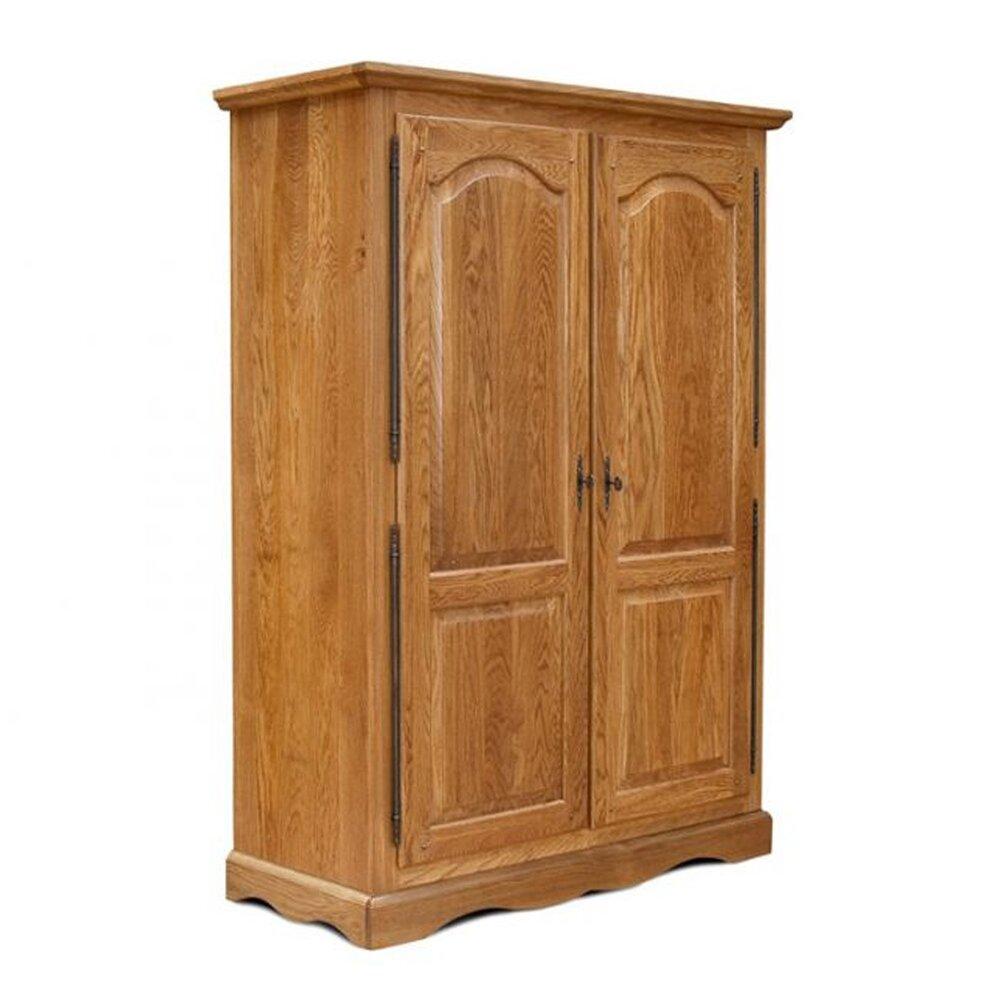 Chambre - Armoire 2 portes chene moyen photo 1