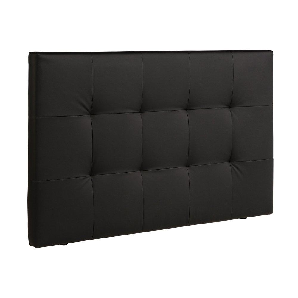 Lit - Tête de lit capitonnée 167x8x101cm coloris noir photo 1