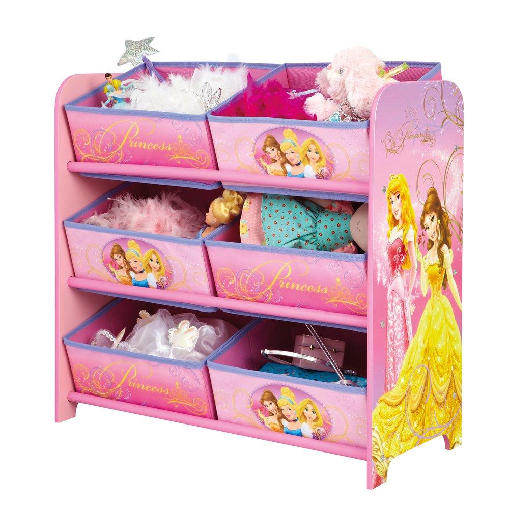 Meuble Rangement A Corbeilles Princesses Disney Maison Et Styles