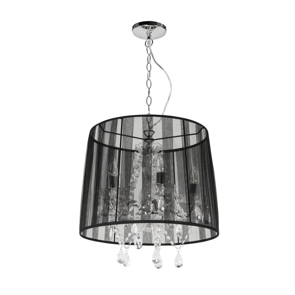 Luminaire - Lampe suspendue design 45x45x45cm CONRA - noir photo 1