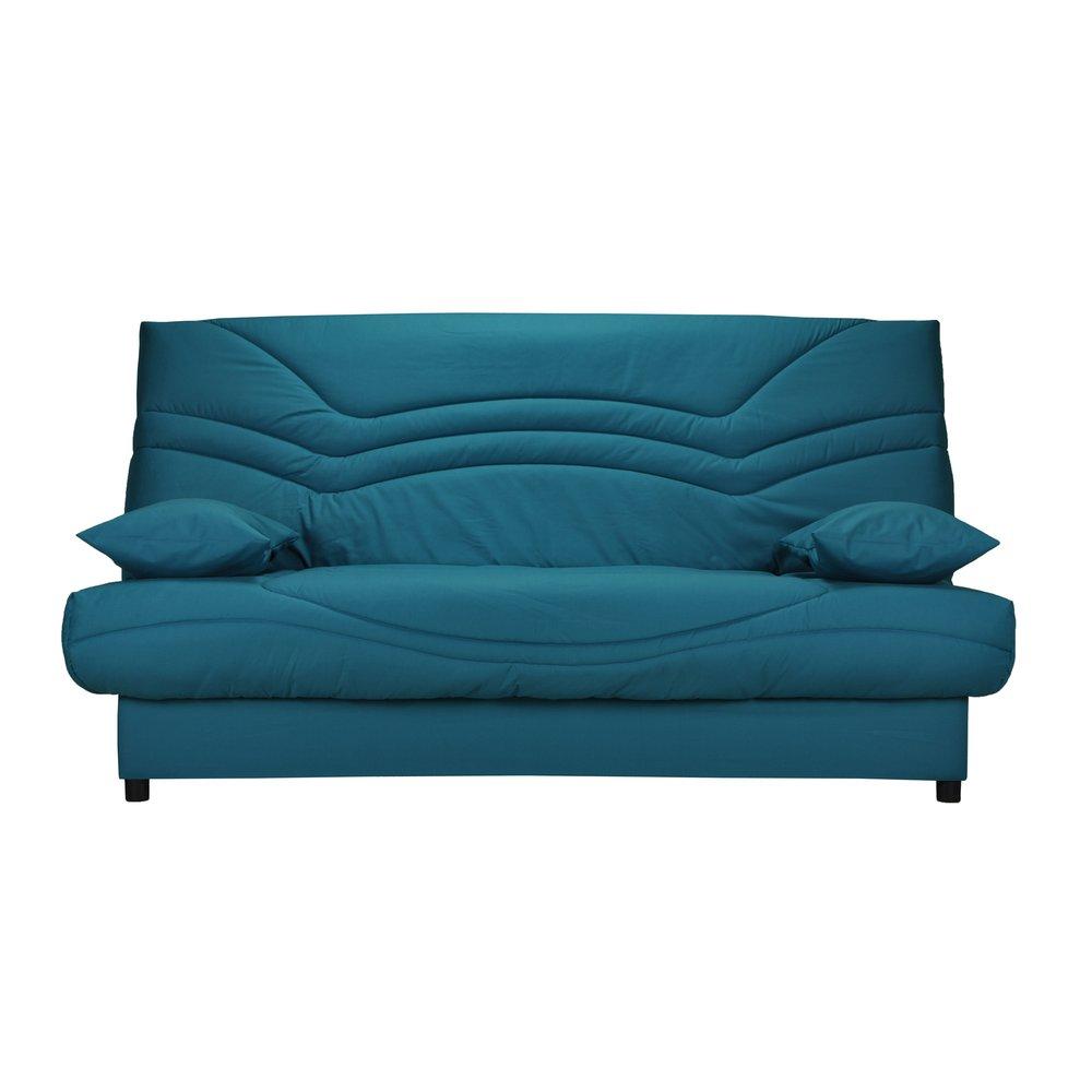 Banquette - Banquette-lit clic-clac 130cm 26kg, motif bleu canard photo 1