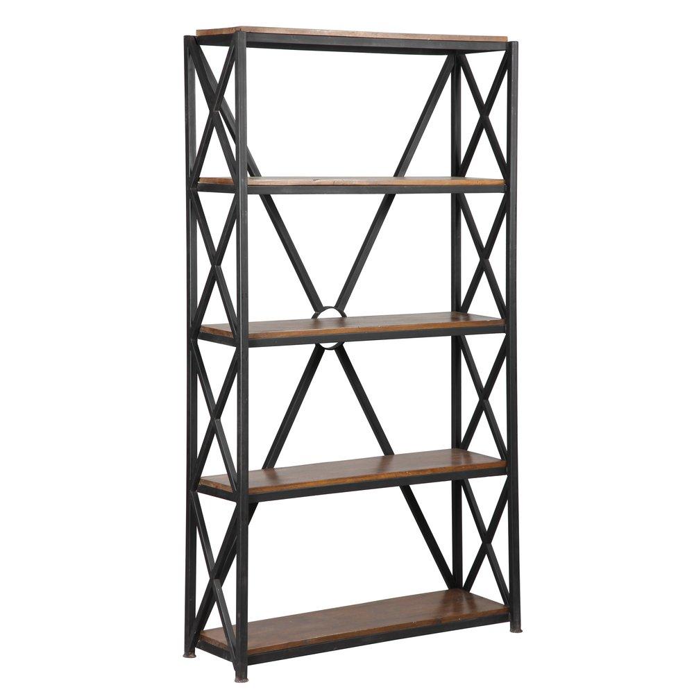 Bibliothèque - Etagère - Etagère en acier 5 niveaux ATELIER METAL photo 1