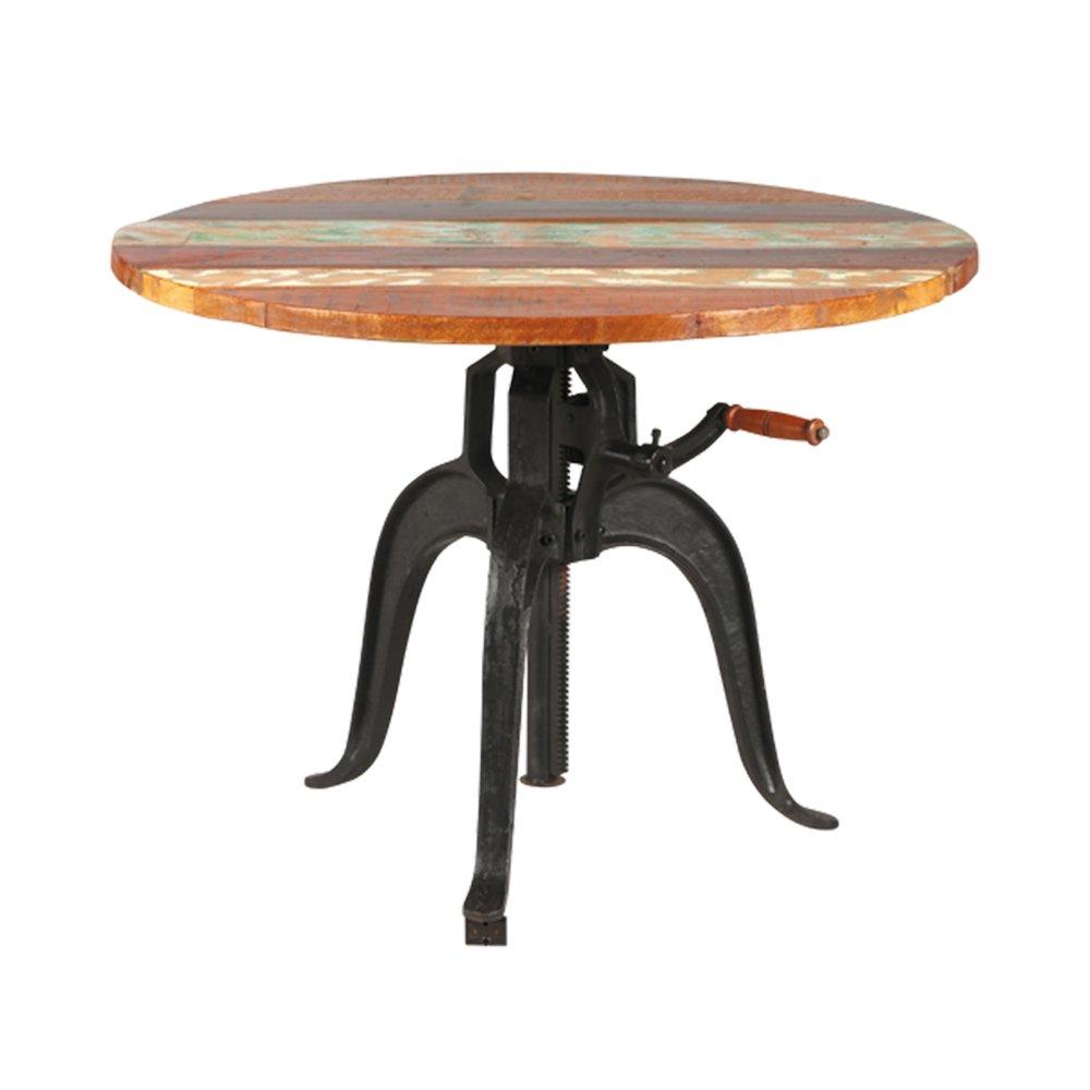 Table - Table à crémaillère en fonte ATELIER METAL photo 1