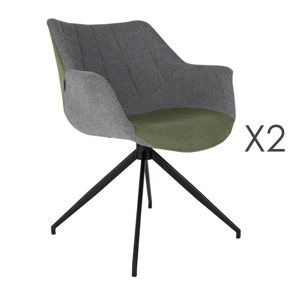 Fauteuil - Lot de 2 fauteuils - vert photo 1