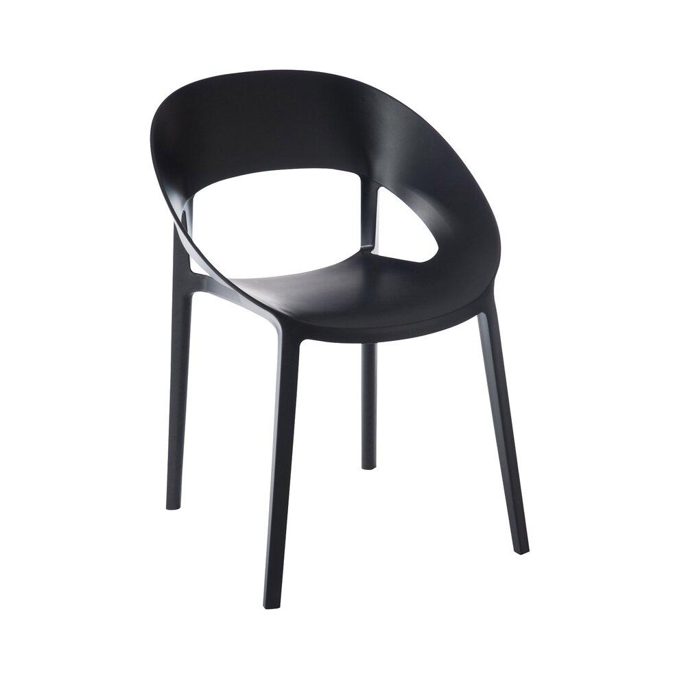 Chaise - Chaise design 55x57x77cm - noir photo 1