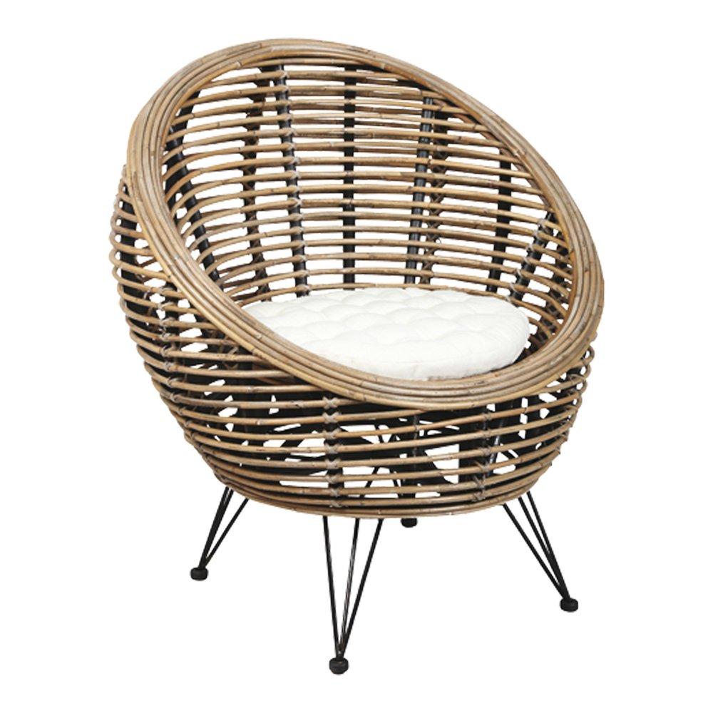 Cache Pied De Sapin Rotin fauteuil rotin - suzanna | maison et styles