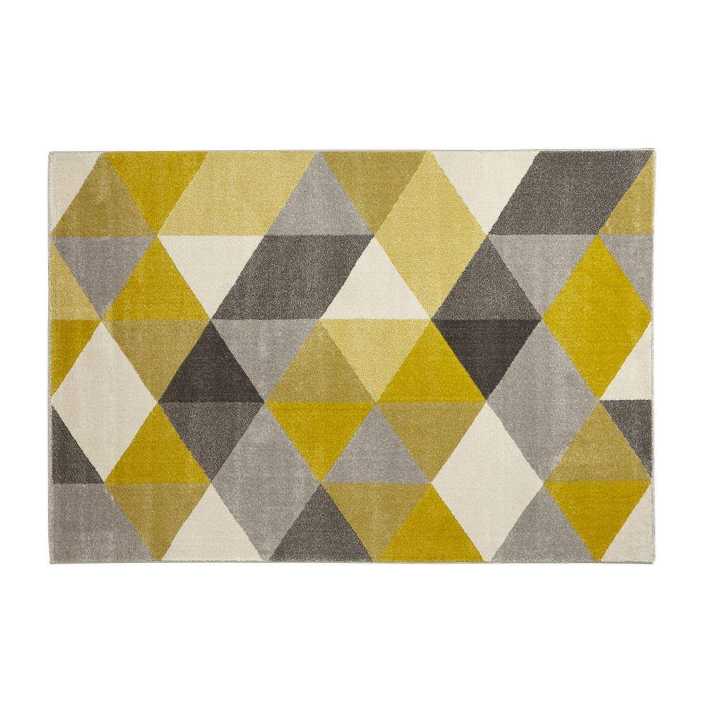 Tapis - Tapis 230x160cm jaune -  m photo 1