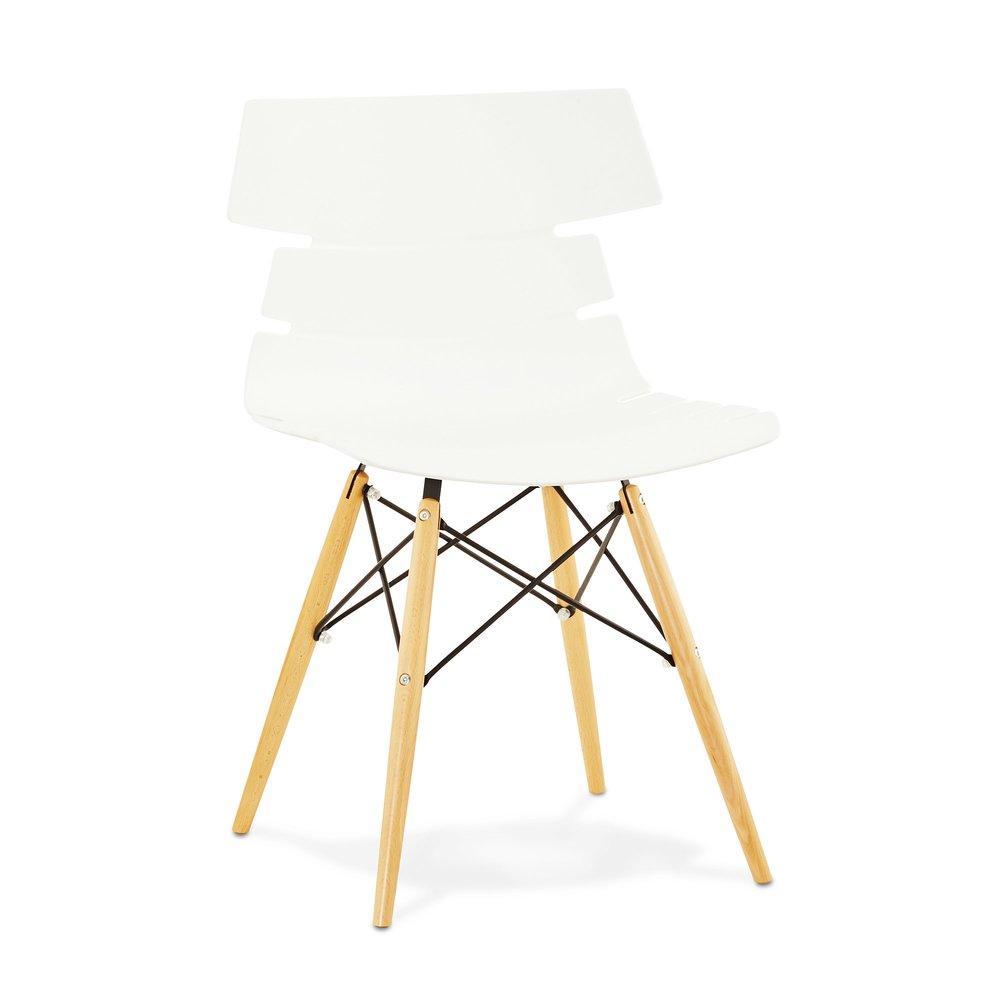 Chaise - Chaise design blanc - STRAVAS photo 1