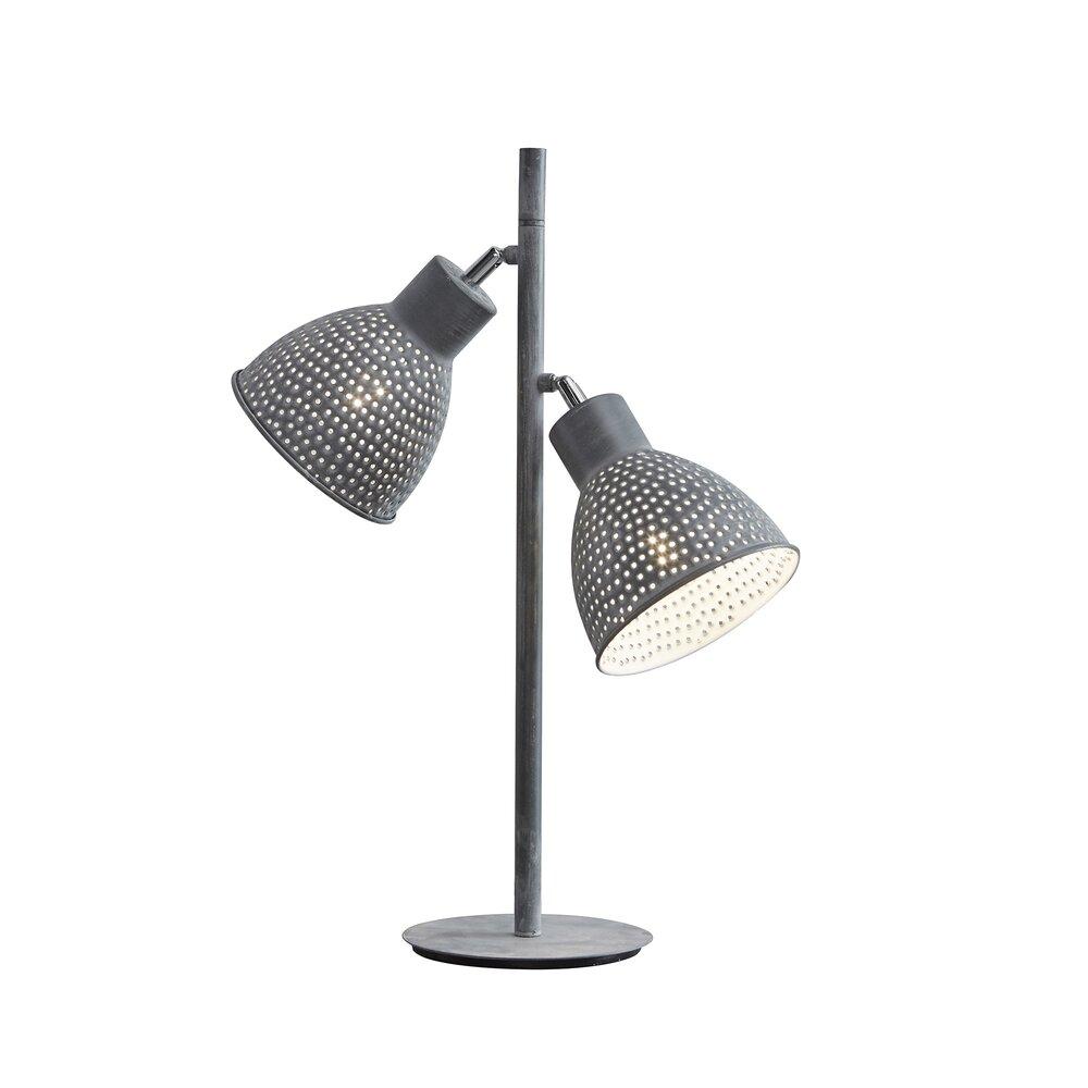 Luminaire - Lampe de table métal gris photo 1