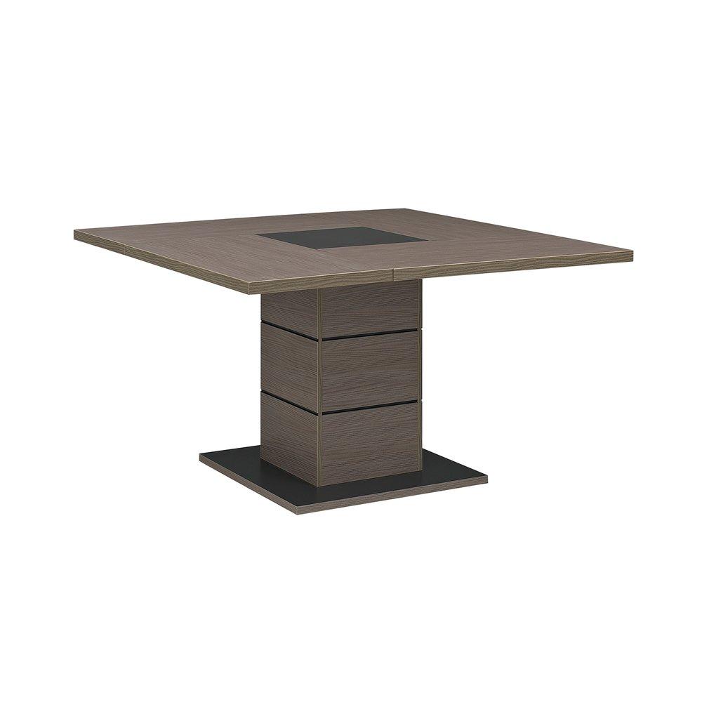 Table carrée ANABELLEMaison repas chêne et 130cm décor dxeWCrBo