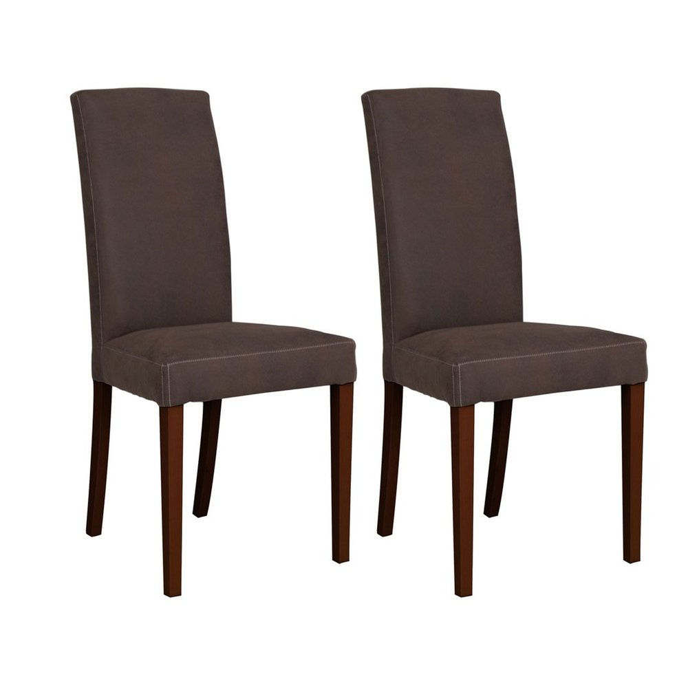 Chaise - Lot de 2 chaises brun - ARIZONA photo 1