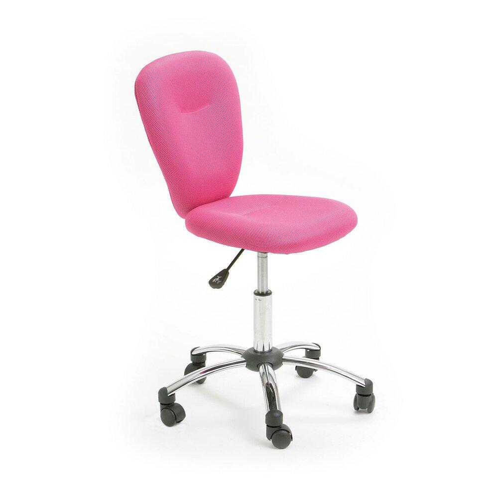 Fauteuil de bureau - Chaise de bureau enfant rose - CHILD photo 1