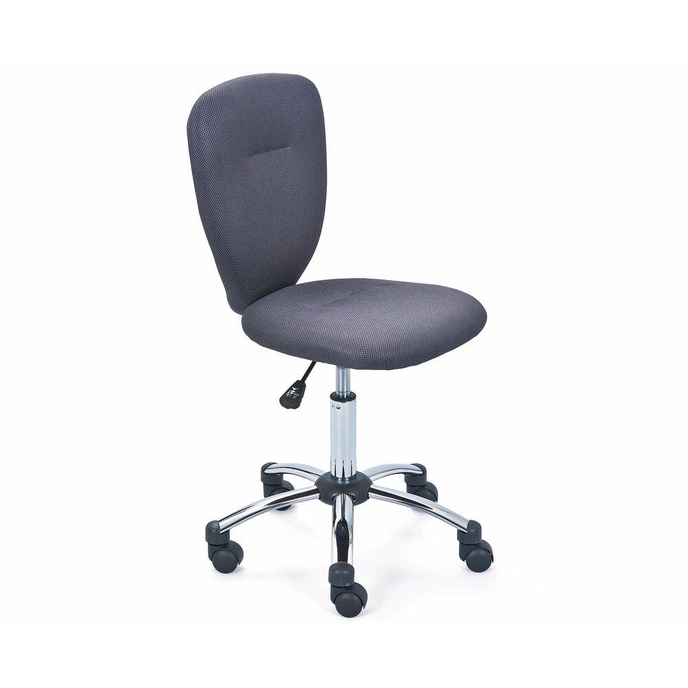 Fauteuil de bureau - Chaise de bureau enfant gris - CHILD photo 1