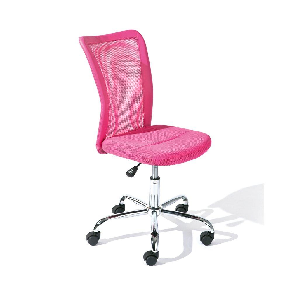 Chaise De Bureau Enfant En Pu Rose Child Maison Et Styles