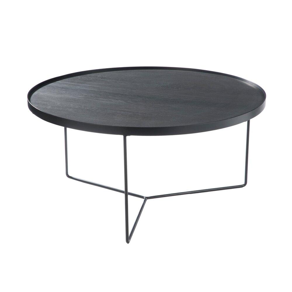 شفاف توزيع اثار table basse gigogne ronde