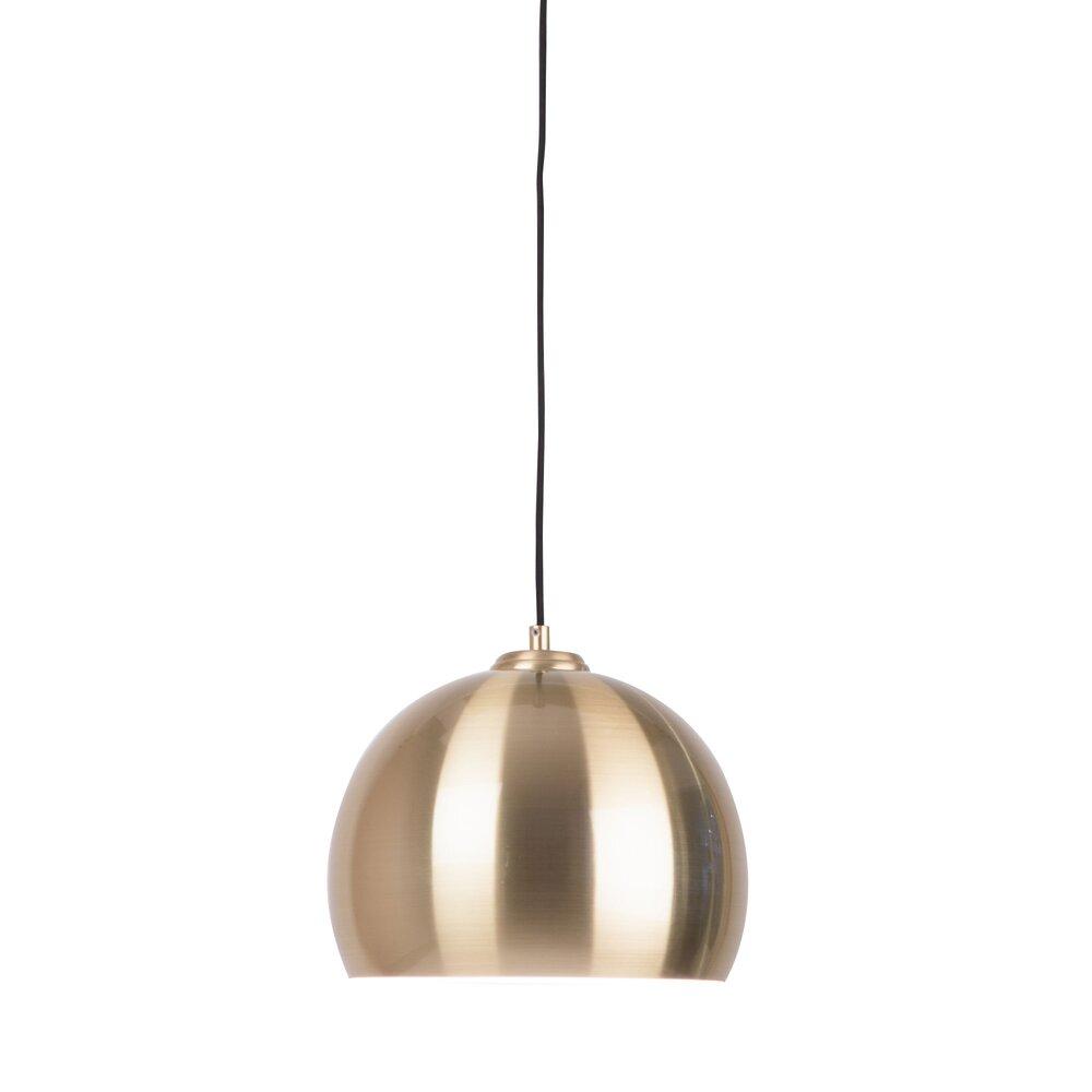 Luminaire - Suspension design 27x27x125 cm en métal plaqué laiton photo 1