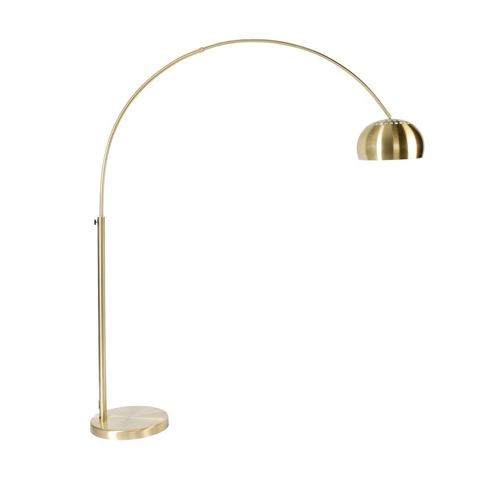 Luminaire - Lampe de sol design 39x170x190/205 cm en métal plaqué laiton photo 1