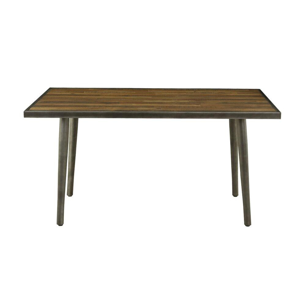 Table - Table repas 150x85x76 cm en acacia et métal - MARVEL photo 1