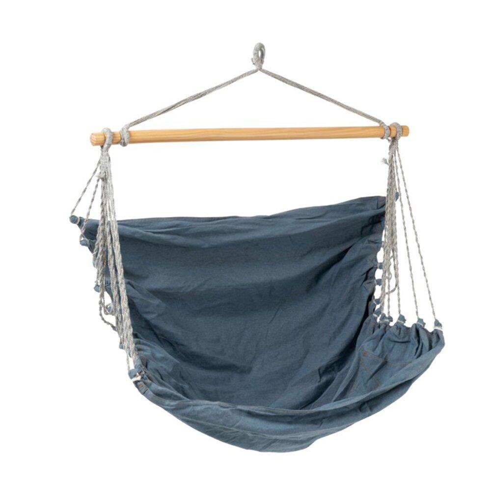 Fauteuil - Fauteuil suspendue 150x130x150 cm en coton bleu photo 1