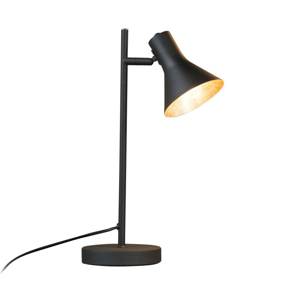 Luminaire - Lampe de table 25x13x45 cm en métal noir photo 1