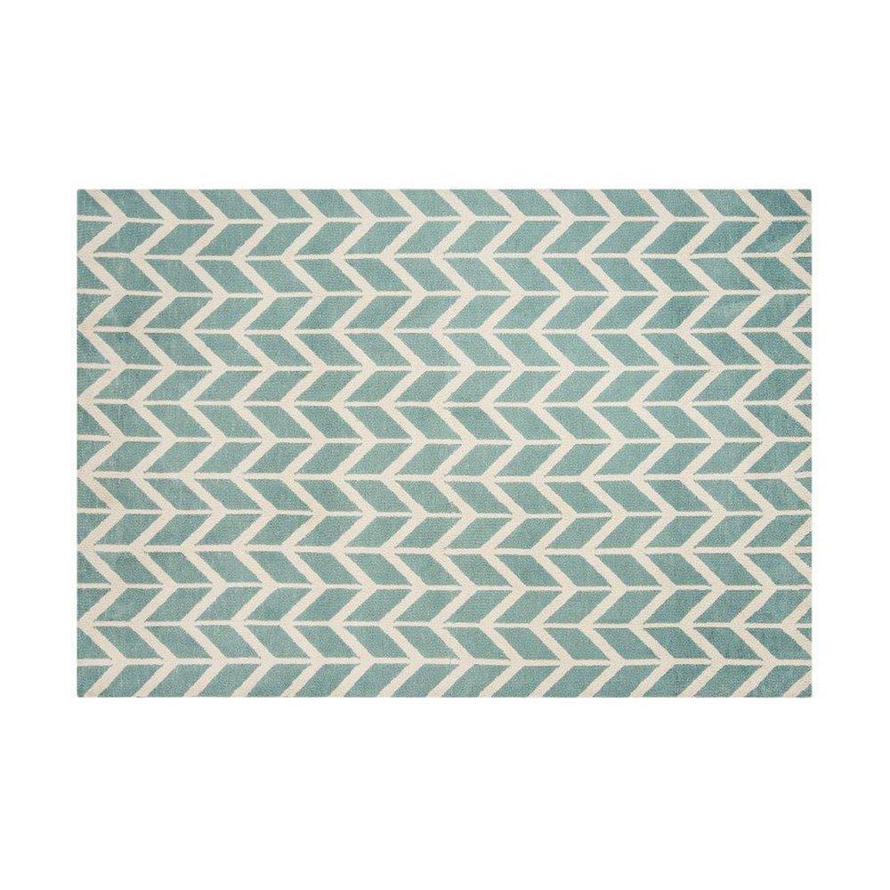 Tapis - Tapis 120x170 cm en polyester bleu clair - RENZO photo 1