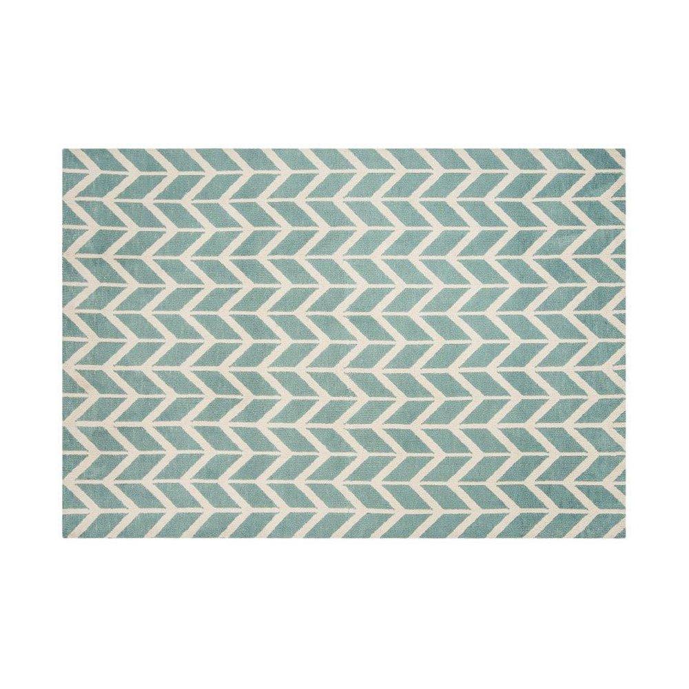 Tapis - Tapis 200x300 cm en polyester bleu clair - RENZO photo 1