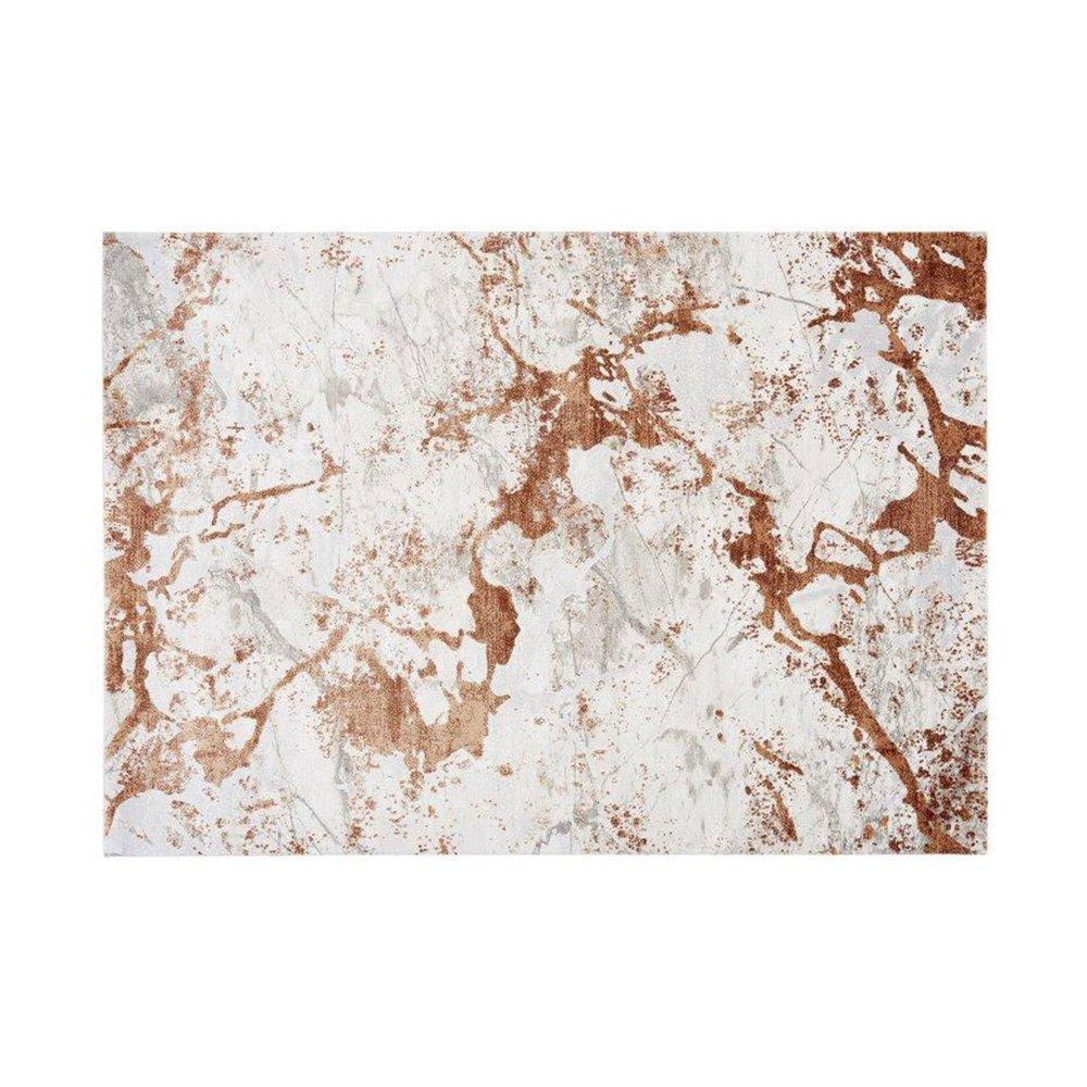 Tapis - Tapis 120x180 cm en acrylique terracotta - NUMA photo 1