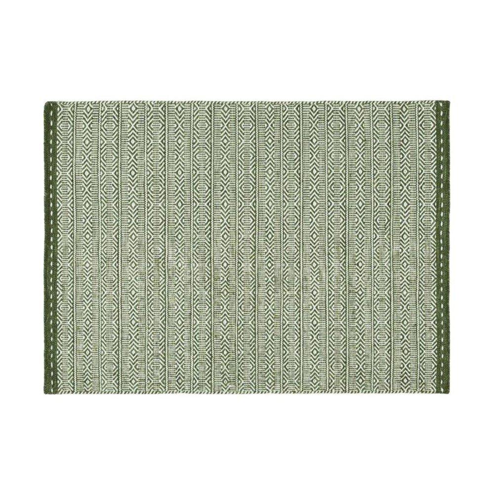 Tapis - Tapis 160x230 cm en tissu vert - OUZIA photo 1