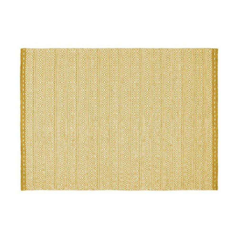 Tapis - Tapis 160x230 cm en tissu ocre - OUZIA photo 1