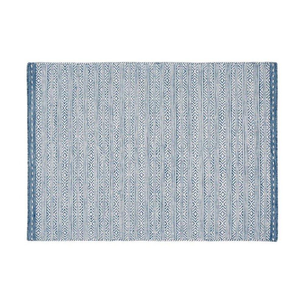 Tapis - Tapis 120x170 cm en tissu bleu - OUZIA photo 1