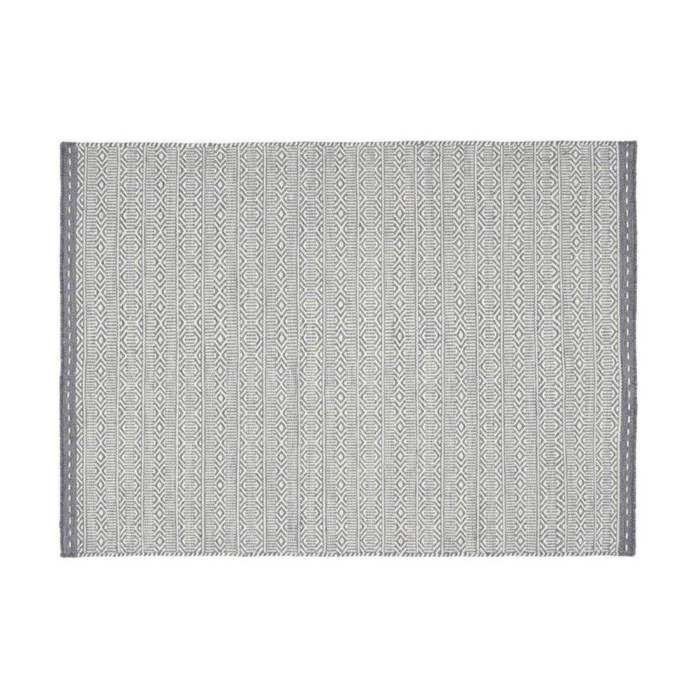 Tapis - Tapis 160x230 cm en tissu gris - OUZIA photo 1
