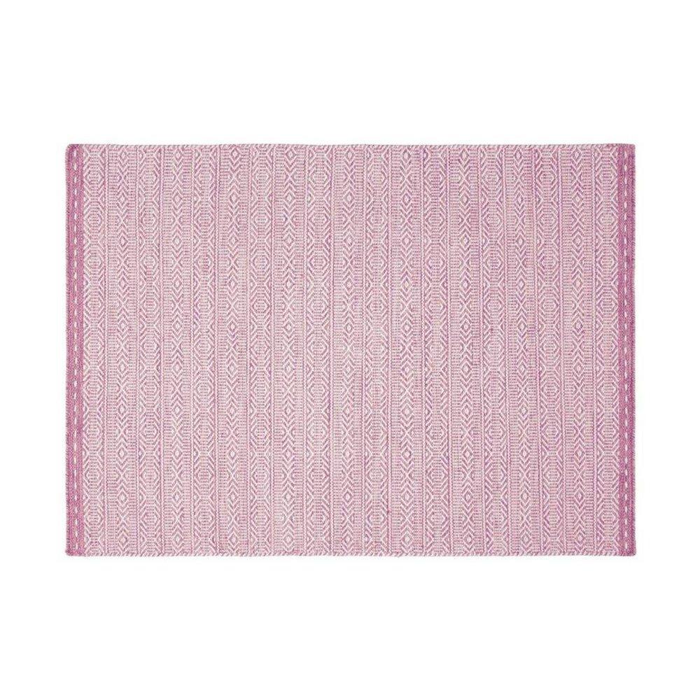 Tapis - Tapis 160x230 cm en tissu rose - OUZIA photo 1