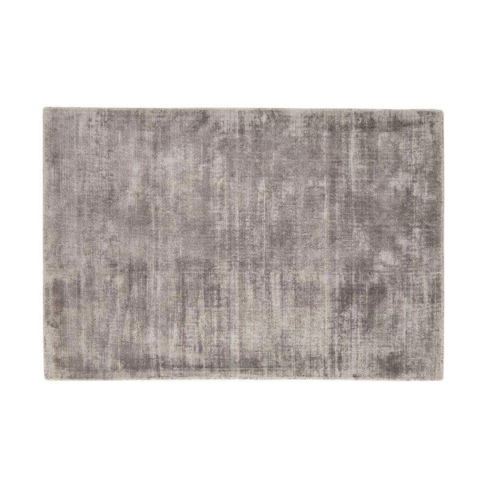 Tapis - Tapis 120x170 cm en viscose argent - FLASH photo 1