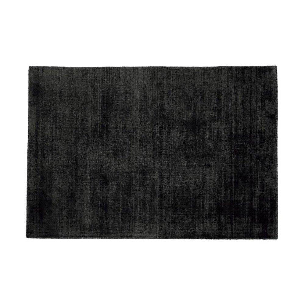 Tapis - Tapis 120x170 cm en viscose anthracite - FLASH photo 1