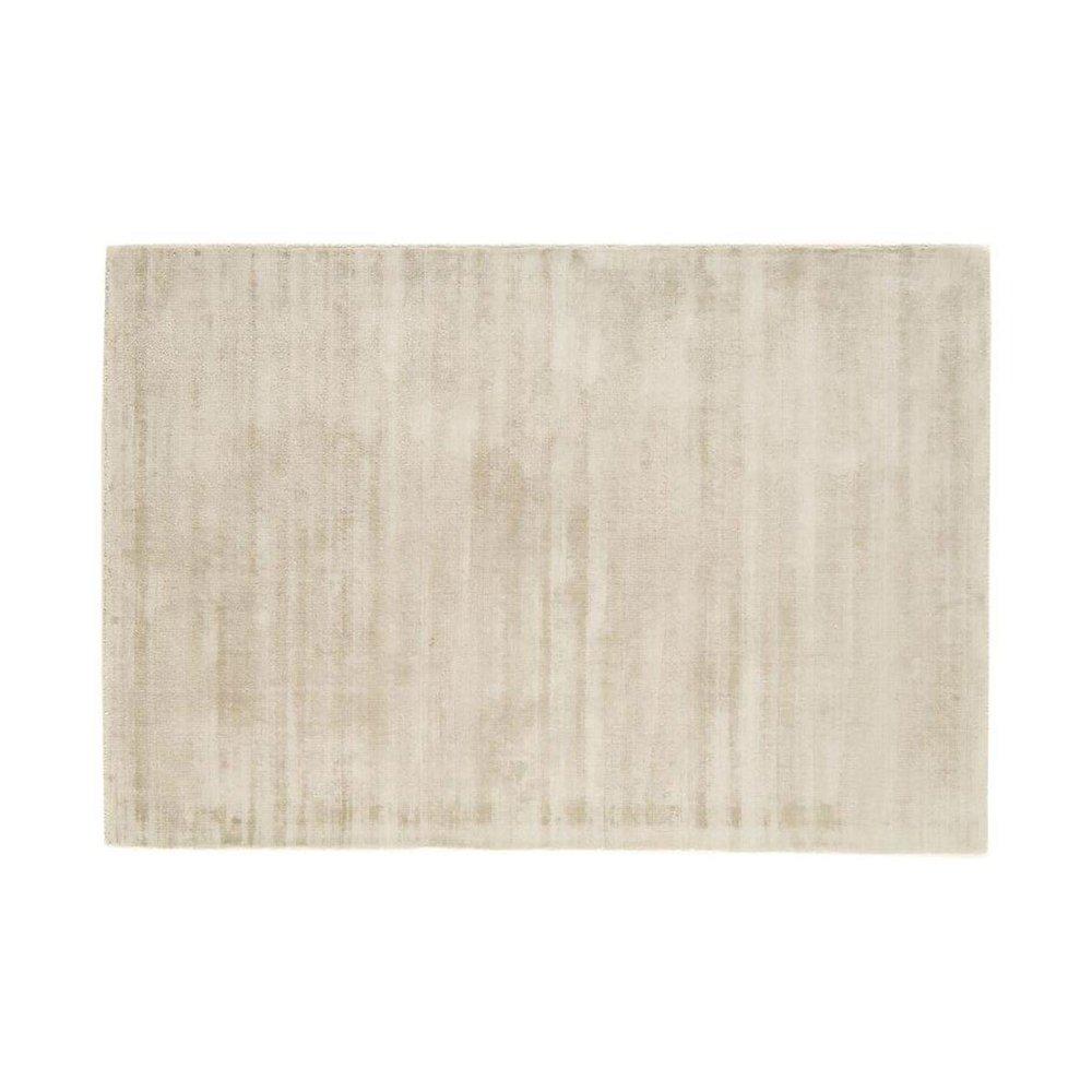 Tapis - Tapis 120x170 cm en viscose blanc - FLASH photo 1