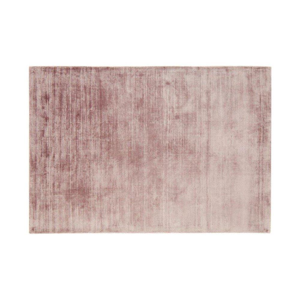 Tapis - Tapis 120x170 cm en viscose rose - FLASH photo 1