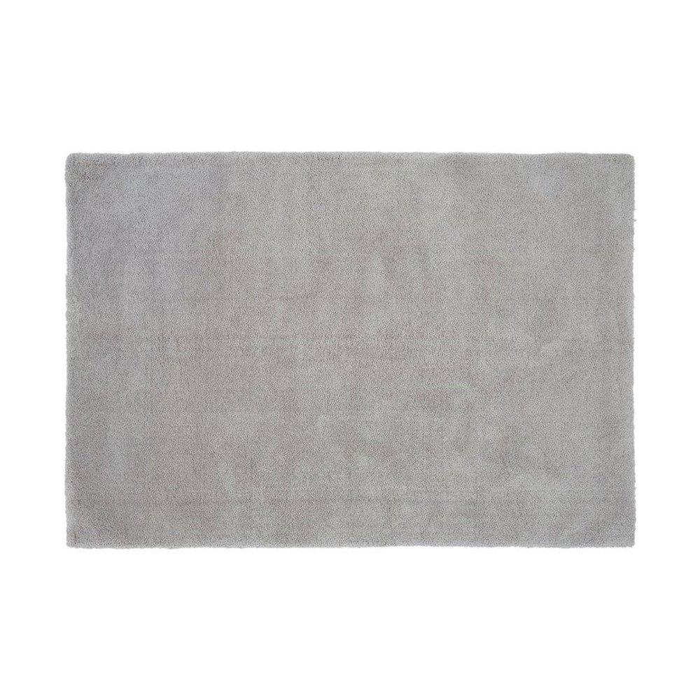 Tapis - Tapis 120x170 cm en polyester argent - MARY photo 1