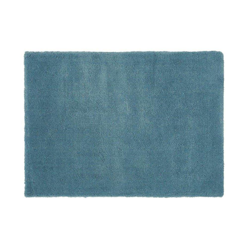 Tapis - Tapis 120x170 cm en polyester bleu - MARY photo 1