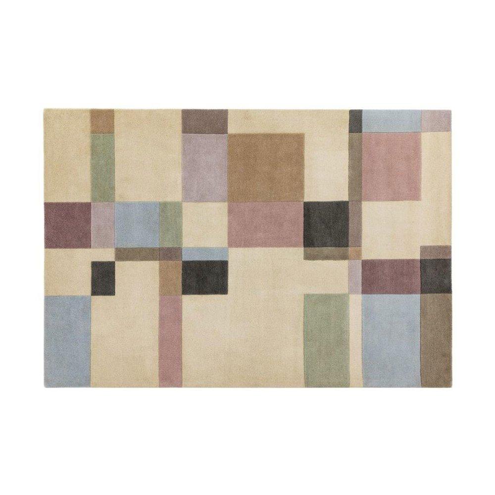 Tapis - Tapis 160x230 cm de style contemporain en laine - NEDLE photo 1