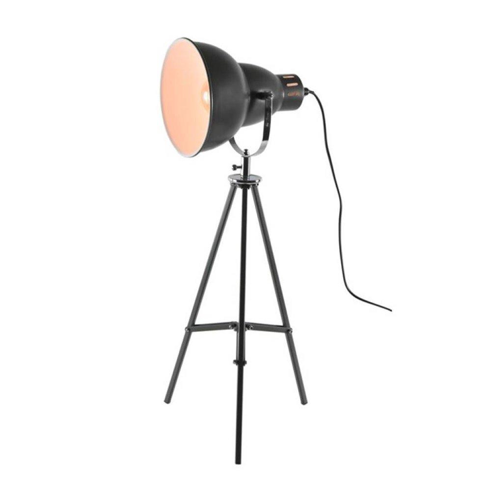 Luminaire - Lampe à poser 26x26x65 cm en métal gris - DYNA photo 1